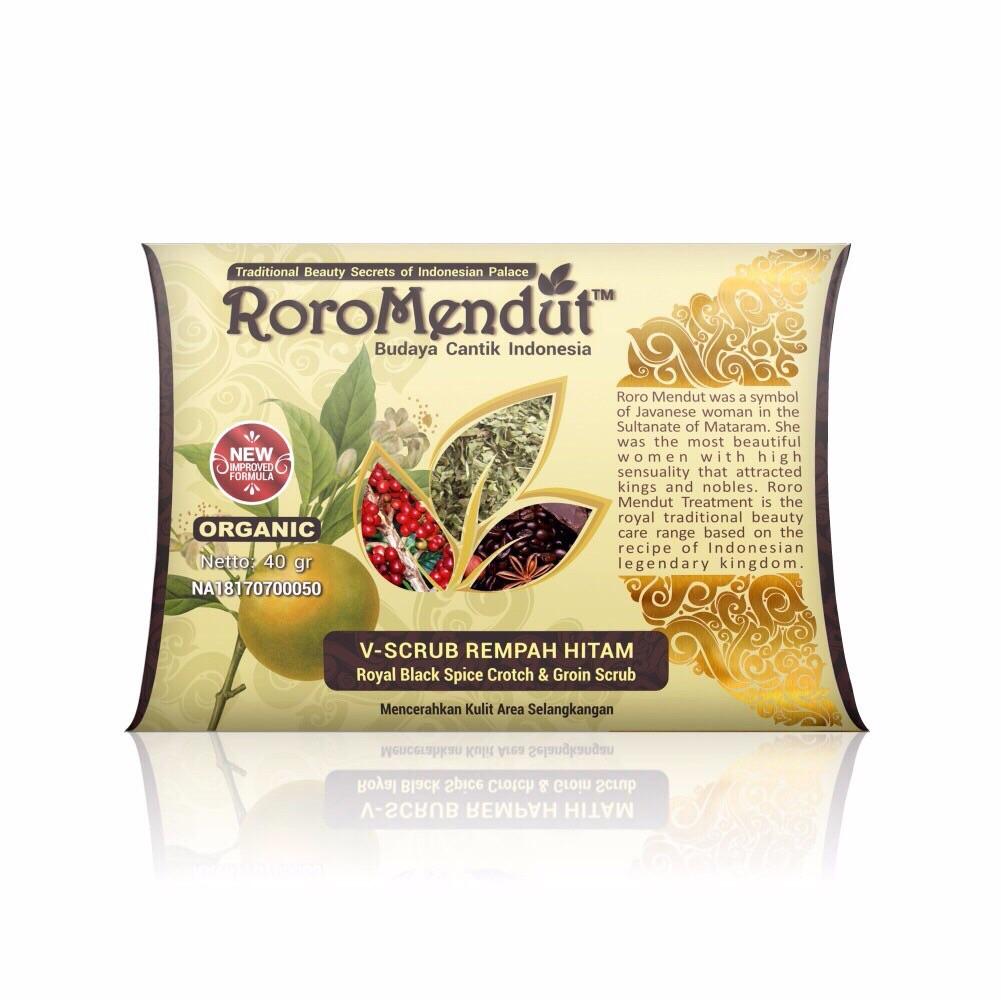 nama produk: Paket V-Scrub Rempah Hitam 40 gr